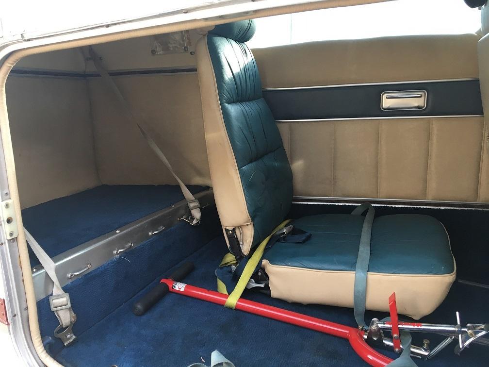 B55 Interior - Rear
