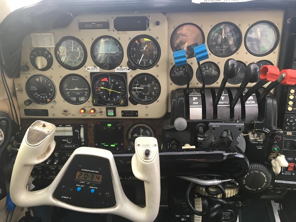 B55 Pilot Panel